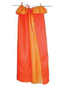 Capa de seda reversible Naranja/Amarilla