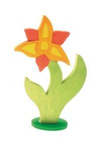Flor Lili de madera