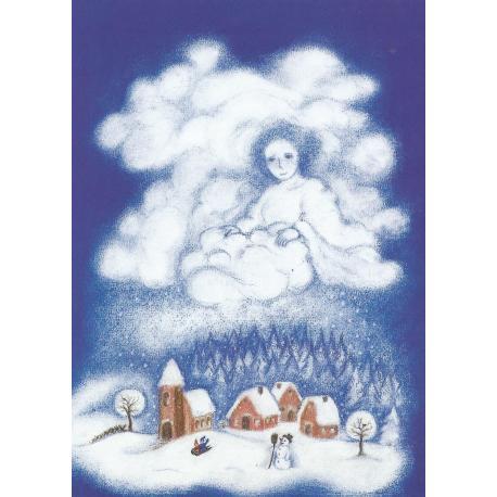 Postal - Madre nieve