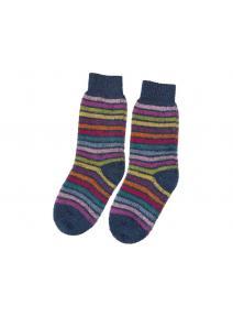 Calcetines de lana arco iris