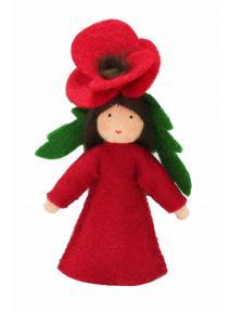 Muñeca flor Amapola