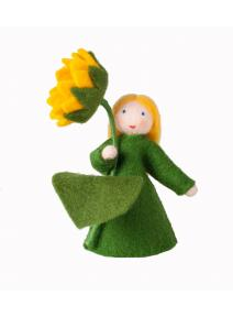Muñeca flor girasol