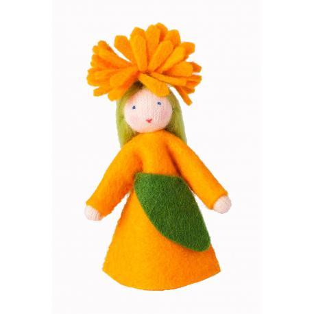 Muñeca flor caléndula