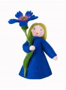 Muñeca flor Aciano