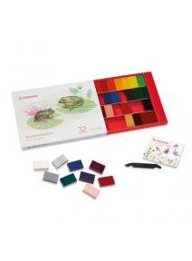 Bloques de cera 32 colores Stockmar