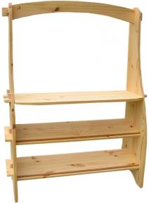 Caballete de madera Waldorf