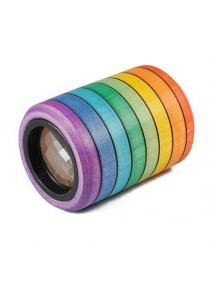 Caleidoscopio arco iris