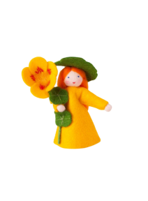 Muñeca flor capuchina