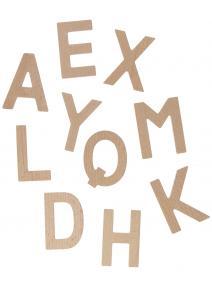Juego de ortografía inglés de madera