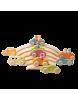 Coche de madera pastel Grimm's