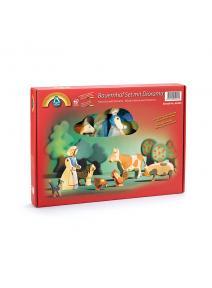 Set de granja con diorama Ostheimer