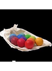 Bolas pequeñas arco iris Grimm's