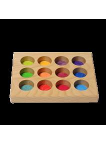 Tabla de clasificación arco iris Grimm's