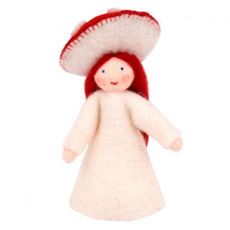 Muñeca Seta roja