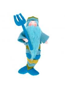 Muñeco  Rey Neptuno