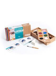 Kit de maquillaje bio para niño Arcoiris