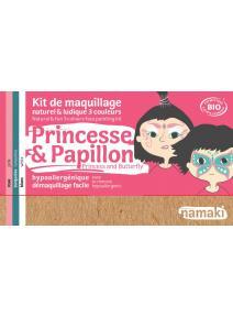 Kit de maquillaje infantil bio Princesa y Mariposa