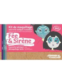 Kit de maquillaje infantil bio Hada y Sirena