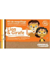 Kit de maquillaje infantil bio Leon y Jirafa
