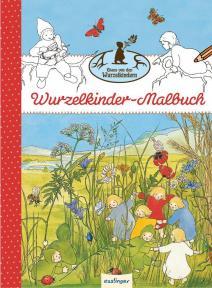 Libro para colorear - Los niños raices