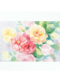 Postal Las Rosas inglesas