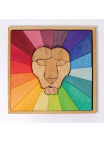 Puzzle de madera Leon Grimm's
