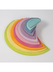 Semi circulos pastel Grimm's
