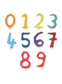 Figura de madera numeros Grimms