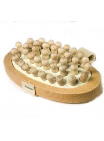 Cepillo anticelulitico de madera de haya