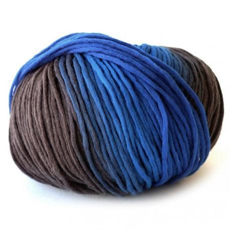 Lana Reggae - azules y grises