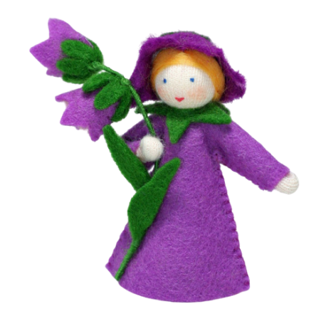 Muñeca flor campanilla