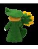 Muñeco flor girasol