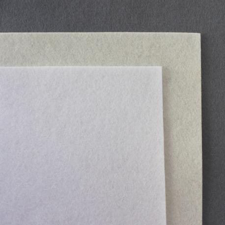 Fieltro de lana 100% tonos grises