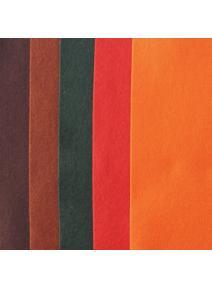 Fieltro de lana 100% pack otoño