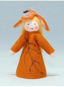 Muñeca hoja de otoño