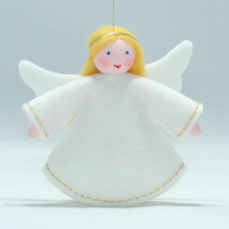 Muñeca angel de la abundancia para colgar