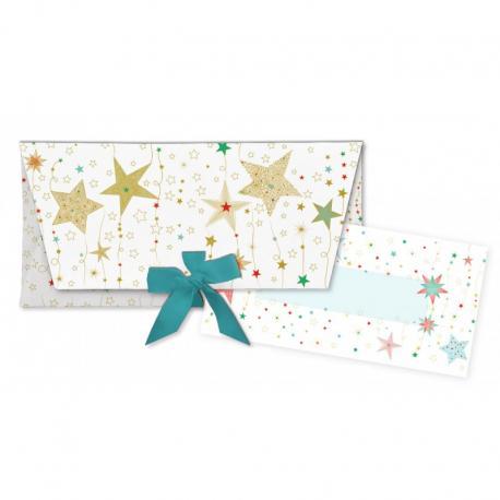 Sobre regalo con tarjeta Estrellas