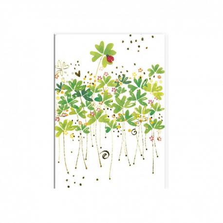 Cuadernos pequeño Trébol