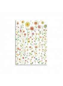 Cuaderno pequeño Flores