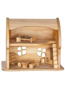 Casa de madera Cuentos de hadas