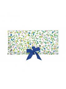 Sobre regalo con tarjeta Flor azul