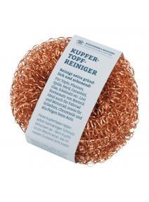 Limpiador de ollas de cobre