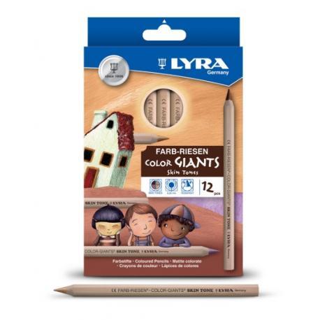 Lyra Color Giants 12 colores piel