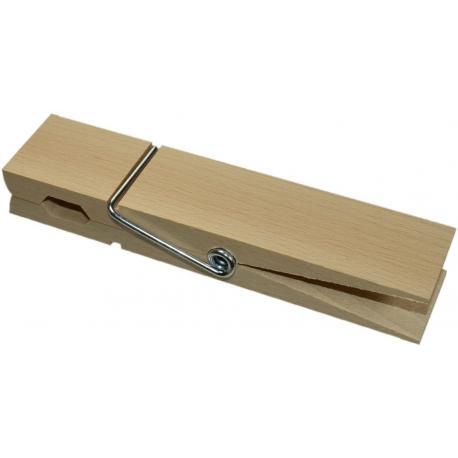 Pinza de madera grande