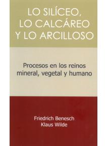 Lo silíceo, lo calcáreo y lo arcilloso. Procesos en los reinos mineral, vegetal y humano.