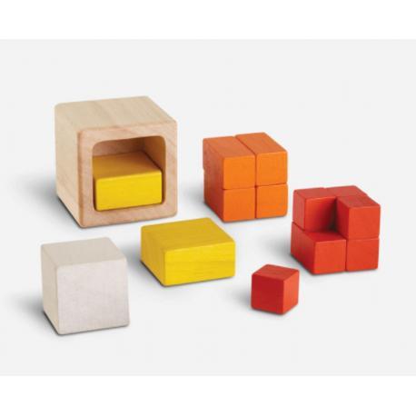 Cubos fraccionados Plantoys