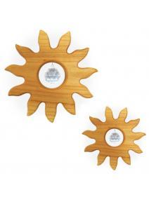 Móvil de madera Sol