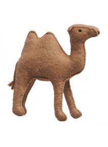 Camello grande de fieltro
