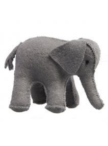 Elefante de fieltro grande