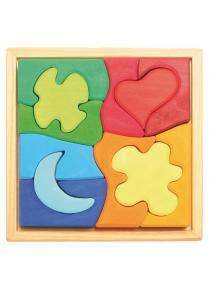 Puzzle de madera Formas